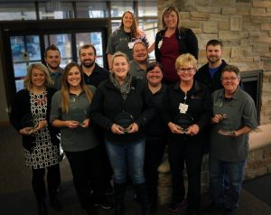 ER Staff with Press Ganey 2017 award
