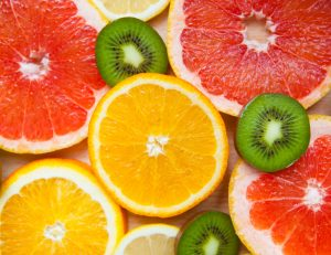 picture of slices of fruit